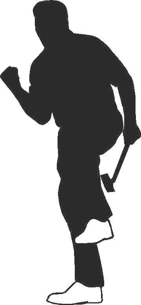 Golfer Golf Decal / Sticker 10