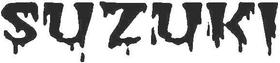 Suzuki Lettering Decal / Sticker 05