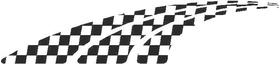 Checkered Flag Decal / Sticker 44