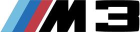 BMW M3 Decal / Sticker 56