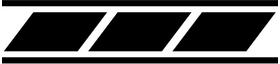 Yamaha Stripe Decal / Sticker 17 Set of 2