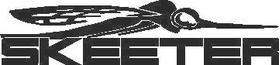 Skeeter Decal / Sticker 03