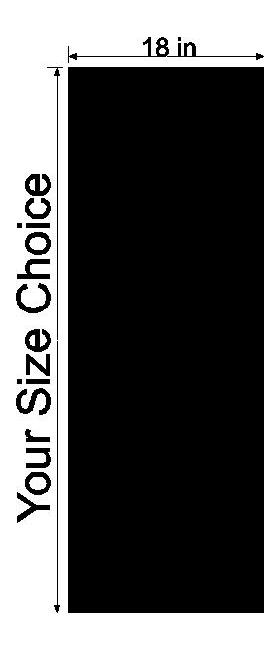 18 Inch Wide Racing Stripe Decal / Sticker