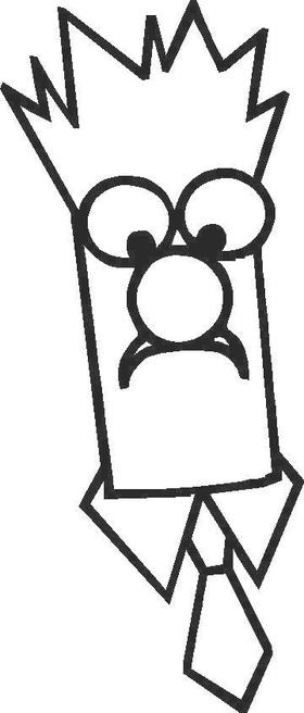 Beaker Decal / Sticker