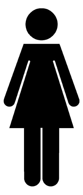 Women's Room Decal / Sticker 01