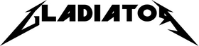 Gladiator Decal / Sticker 08