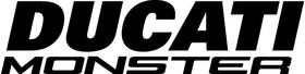 Ducati Monster Decal / Sticker 32