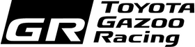 Toyota Gazoo Racing Decal / Sticker 06