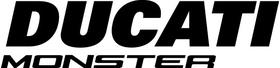 Ducati Monster Decal / Sticker 66