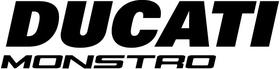 Ducati Monstro Decal / Sticker 69
