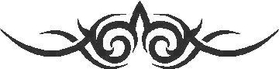 Tribal Decal / Sticker 22