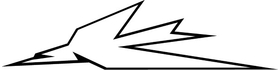Triumph Thunderbird Decal / Sticker 25