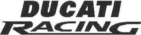 Ducati Racing Decal / Sticker 01
