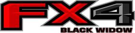 Z FX4 Black Widow Decal / Sticker 26