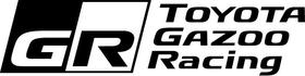 Toyota Gazoo Racing Decal / Sticker 05