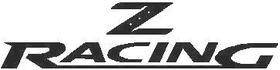 Nissan Z racing Decal / Sticker 01