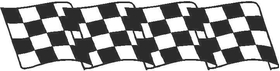 Checkered Flag Decal / Sticker 71