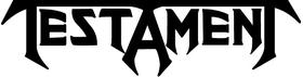 Testament Decal / Sticker 01