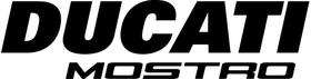 Ducati Mostro Decal / Sticker 70