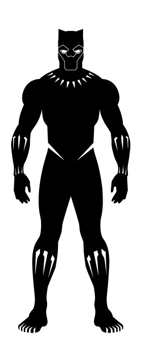 Black Panther Decal / Sticker 11