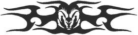 Ram Tribal Decal / Sticker 08