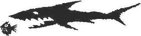 Shark Decal / Sticker 03
