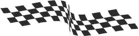 Checkered Flag Decal / Sticker 58