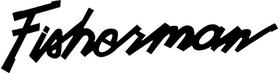 Lund Fisherman Decal / Sticker 07