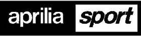 Aprilia Sport Decal / Sticker