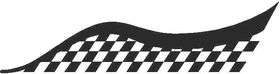 Checkered Flag Decal / Sticker 13