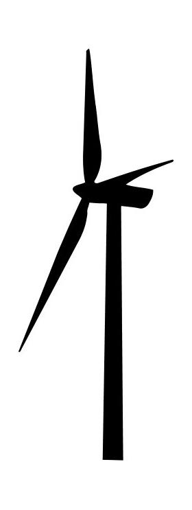 Windmill Decal / Sticker 02