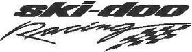 Ski-Doo Racing Decal / Sticker 02