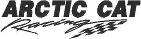 Arctic Cat Racing Decal / Sticker