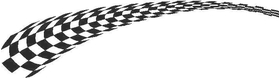 Checkered Flag Decal / Sticker 29