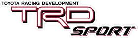 TRD Sport Decal / Sticker 16