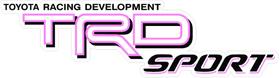 Pink TRD Sport Decal / Sticker 40