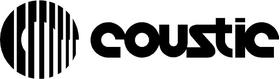 Coustic Car Audio Decal / Sticker 02
