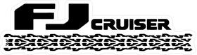 Toyota FJ Cruiser Decal / Sticker 03