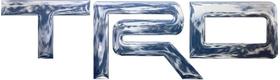 Simulated 3D Chrome Toyota TRD Decal / Sticker