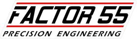 Factor 55 Decal / Sticker a