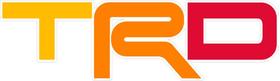 Retro Toyota TRD Decal / Sticker 39