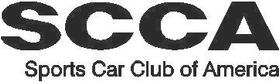 SCCA Decal / Sticker 02