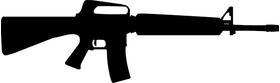 M-16 Gun Decal / Sticker