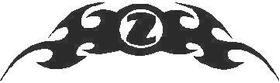 Z Flames Decal / Sticker 03