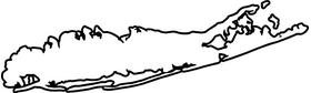 Long Island Decal / Sticker 02
