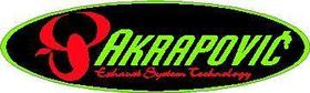 Green Akrapovic Decal / Sticker 05