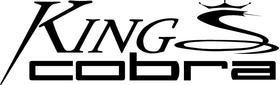 King Cobra Golf Decal / Sticker 06