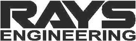 Rays Engineering Decal / Sticker