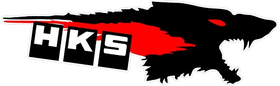 HKS Wolf Decal / Sticker 05