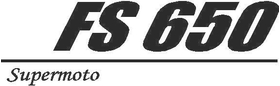 Husaberg FS 650 Decal / Sticker